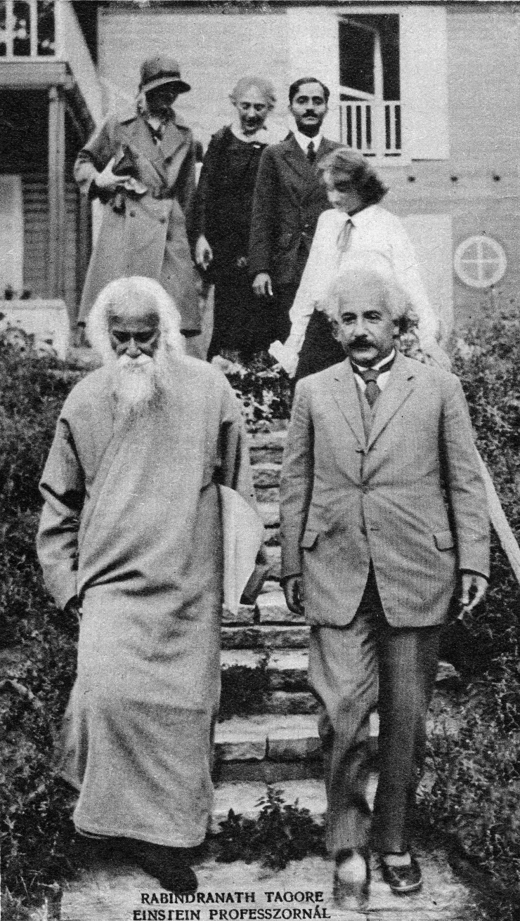Rabindranath_Tagore_to_visit_Professor_Einstein_-_Pesti_Napló_Képes_Vasárnap_-_The_Hungarian_Pest_Diary_-_Pictures_Sunday_-_27_July_1930